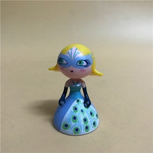 "3"" tall oem custom vinyl figure toy 3d custom vinyl toy manufacturers in China"