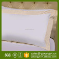 Customizable Bed Linen Plain Cotton Embroidery Hotel Pillow Case