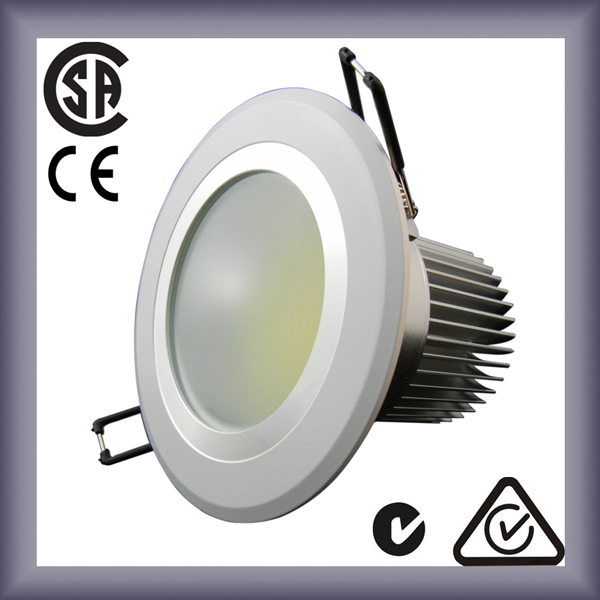 Energy saving 2700k led downlight components 10w 700lm (Mounted installed)
