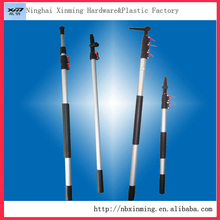 Paint roller extension pole telescopic pole handle and customized aluminum tent pole