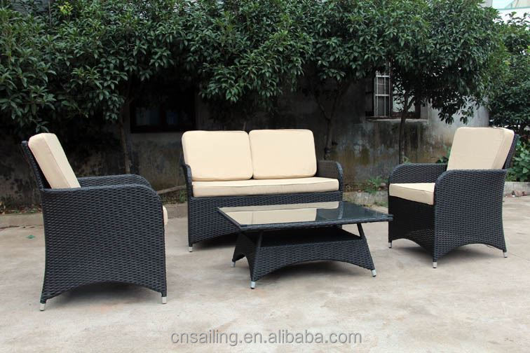 New Design Rattan Garden Indoor Outdoor Furniture Sofa Lounge Set