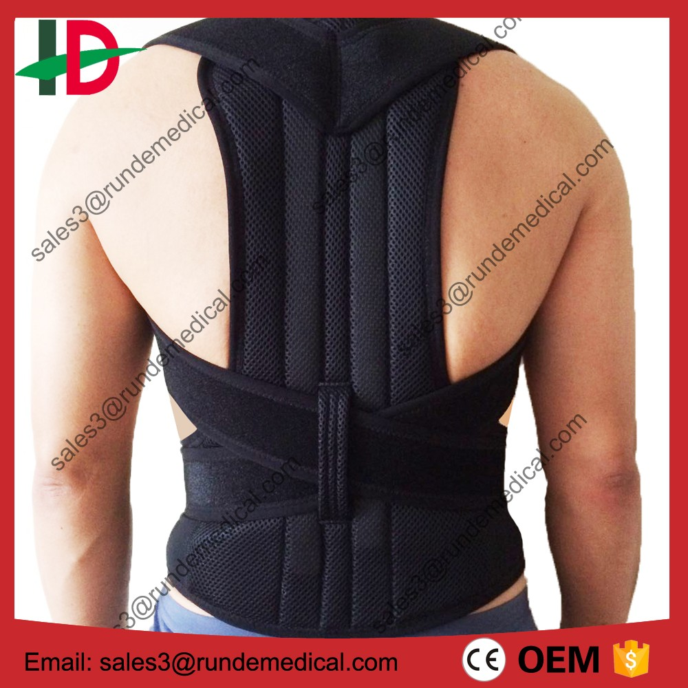 Back Brace Fully Adjustable for Posture Correction and Back Pain