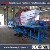 Rubber Crusher Tire Recycling Machine 008618103852070