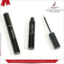 New arrival double sides eyeliner tube/packaging/container/packing/case with brush