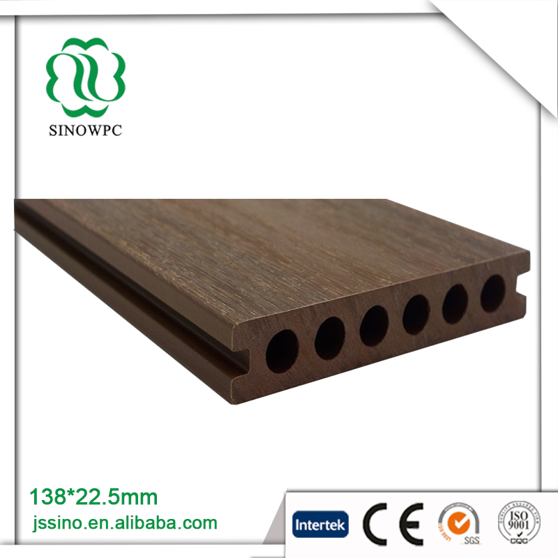 International Pop hardwood Co-extrusion floor composite decking wood