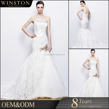Fashion professional best lao wedding dress
