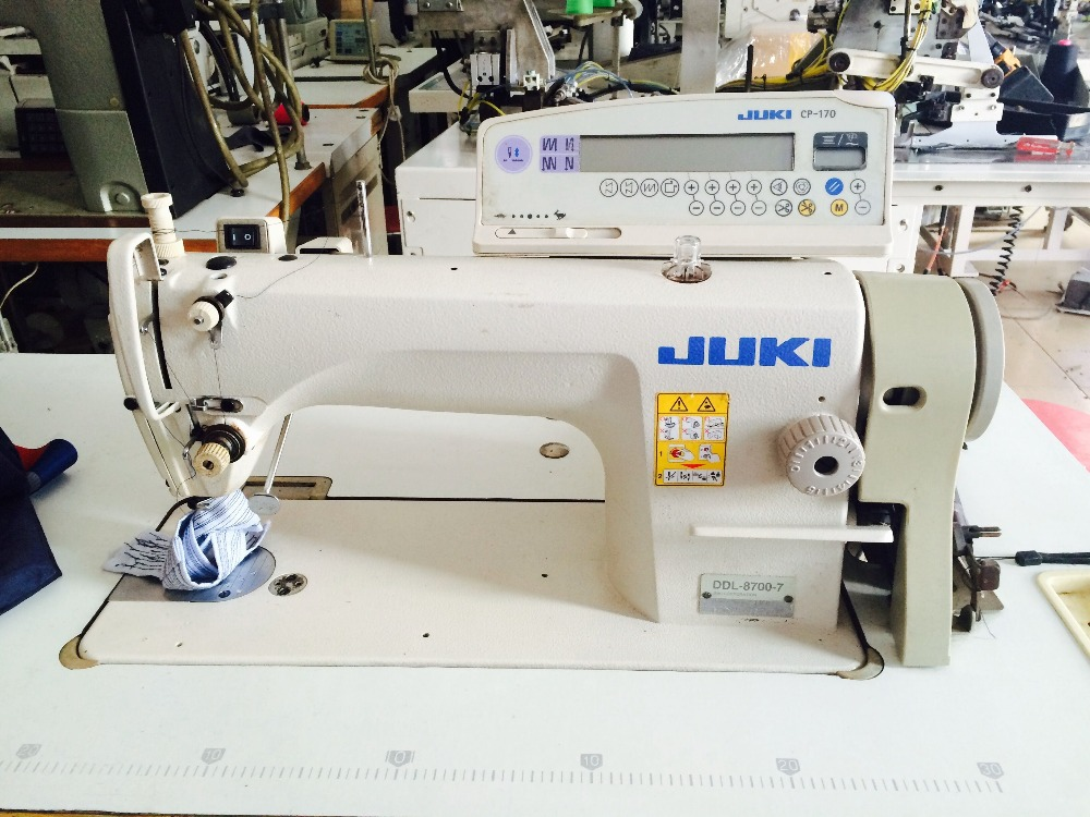 Second hand 80% newly used 8700-7 japan imported lockstitch industrial sewing machine