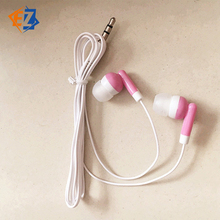 Candy Colored Headphones Universal New Style Top Seller Headset Earphone Ear Plugs