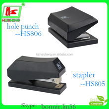 school office stationery set 2 hole punch & stapler 2 in 1