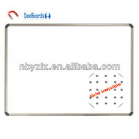 "24""x36"" grid invisible magnetic whiteboard / magnet whiteboard / magnetic white board for school and office"