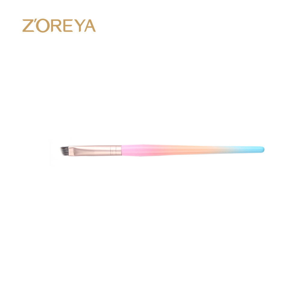 Z'oreya Unique design Brushes for girls dual angle eye brow eye shadow brush beauty essential eye brow brush