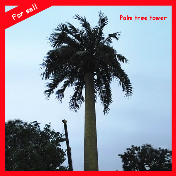 China Camouflage GSM Steel Tower palm Tree Camouflage Monopole Tree Tower