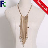 Simple women chain necklace jewelry ,yiwu jewelry factory