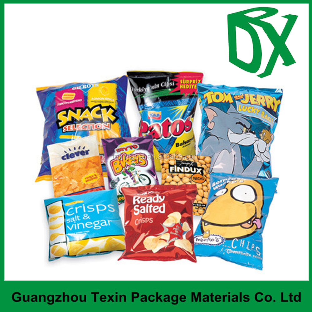 chips packaging/ chips food packaging design snack food packing bag of chips productions
