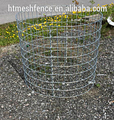 Diameter 3mm steel wire, High Zinc Galvanized welded gabion box, stone cage