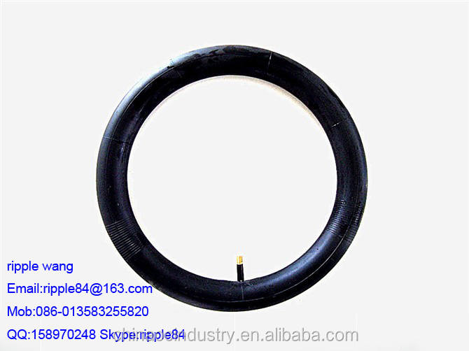 "supply kinds of Bicycle tires bicycle tube Motorcycle Butyl tube , hand trolley, E-Bicycle inner tube 10""x2"""
