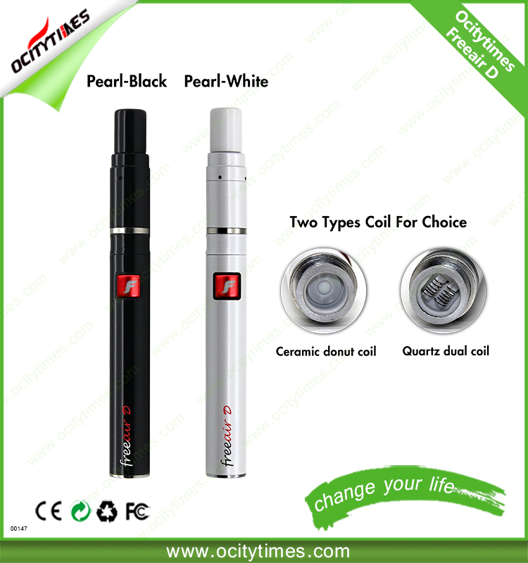 Alibaba express wholesale electronics dry herb vaporizer OCITYTIMES-Freeair-D pen vaporizer dry herb could make OEM order