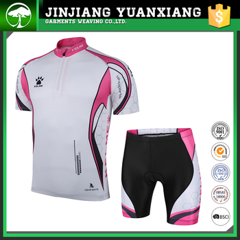 OEM custom sexy cycling wear for woman lady bicycle