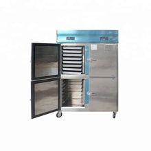 restaurant commercial refrigerator cabinet in stainless steel