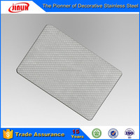 Embossed Stainless Steel Decorative Plate