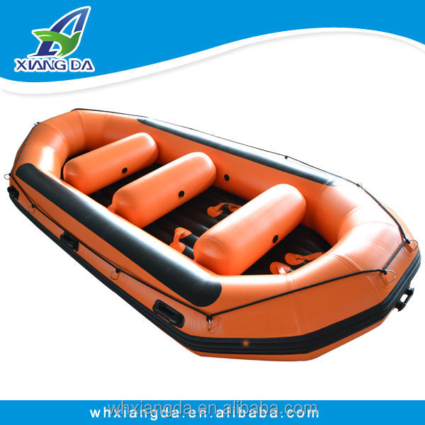 River Sport Whitewater Rubber Inflatable Raft Fishing Boat