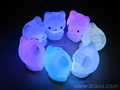 Promotional gift wholesale glow in the dark night light