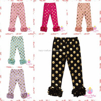2016 Infant Cotton Ruffled Pants Cheap wholesale baby pants diaper /adult baby plastic ruffle pants