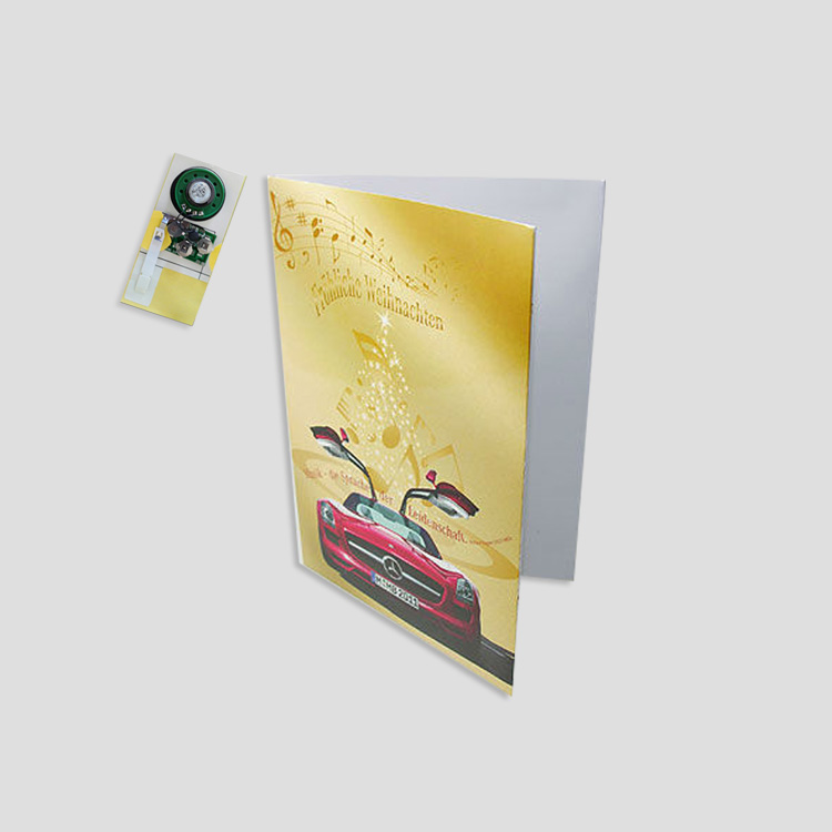 Music invitation/music greeting card/sound greeting card
