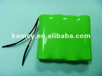 hot sale 4.8V AAA 500mAh rechargeable NiMH batery pack