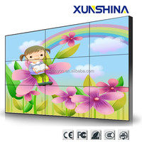 High resolution new 3x3 55 inch lcd video wall, large video wall