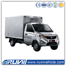Foton 4*2 Small Refrigerated Van meat hook refrigerator truck refrigerated cooling van truck for sale