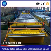 Pre cutter part Corrugated Roof Sheet Roll forming Machine
