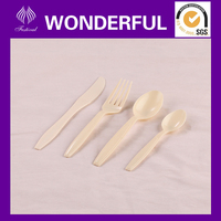 ks4600 disposable biodegradable plastic cutlery recycle plastic cutlery