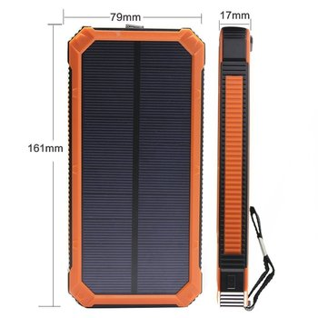 OEM solar mobile phone charger/8000mah waterproof mobile solar charger