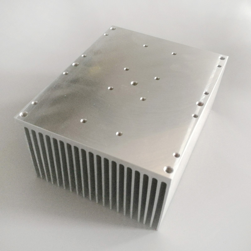 100w led heatsink 97(<strong>W</strong>)*54(H)*<strong>124</strong>(L)mm for LED light