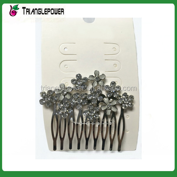 Flower design extension hair clip