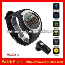 2012 mobile phone watch with CE+Rohs