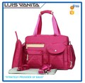 Multifunctional Diaper Bag Fashion Rose Large Changing Bag