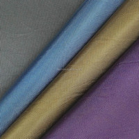 cheap 100% polyester washed oxford fabric for shoes