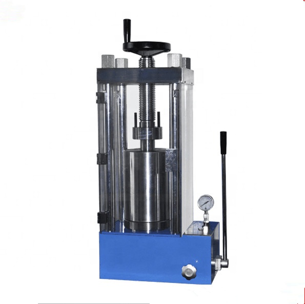 Ultra high pressure powder cold isostatic press for preparing transparent ceramics