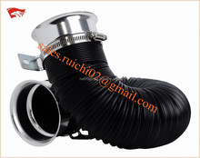 car inflatable air filter intake rubber hose