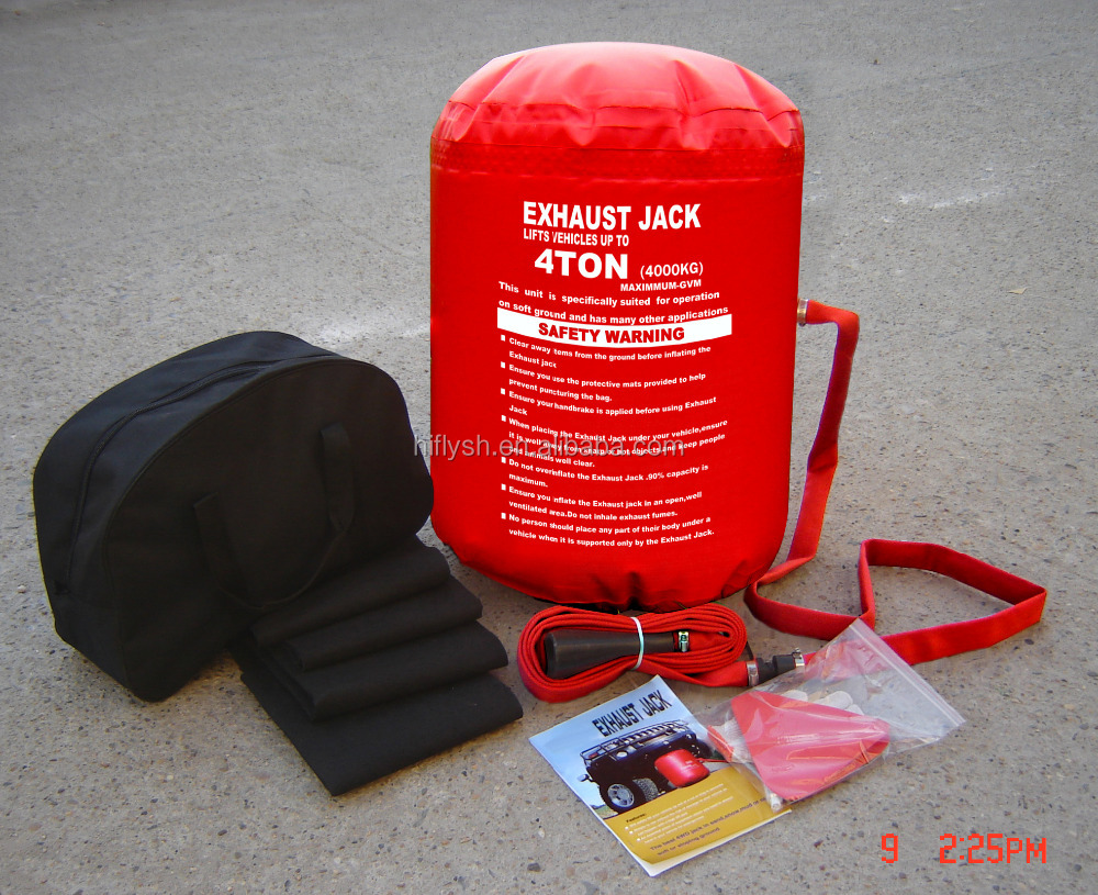 ACJ005 NEW ARRIVAL 4 Ton Exhaust Air Jack And Inflatable jack ( CE certificate )
