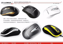 Free Sample Cheap Classical USB Wired Mini Optical Mouse LD-332 for Lenovo Sony Dell HP Laptop