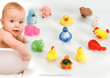 baby bath toys 13 animals toys squeeze sound