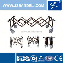 CE Certification Luxury Banquet Chair Trolley/Metal Trolley Cart
