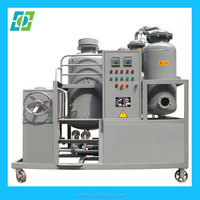 black engine oil regeneration purification