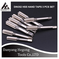 FACTORY HOT SELLING PRODUCT DIN352 3PCS HAND TAPS SET MACHINE TAP AND HAND TAP