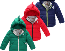z88829C Wholesale Autumn and Winter pretty padding thicken solid boy coats