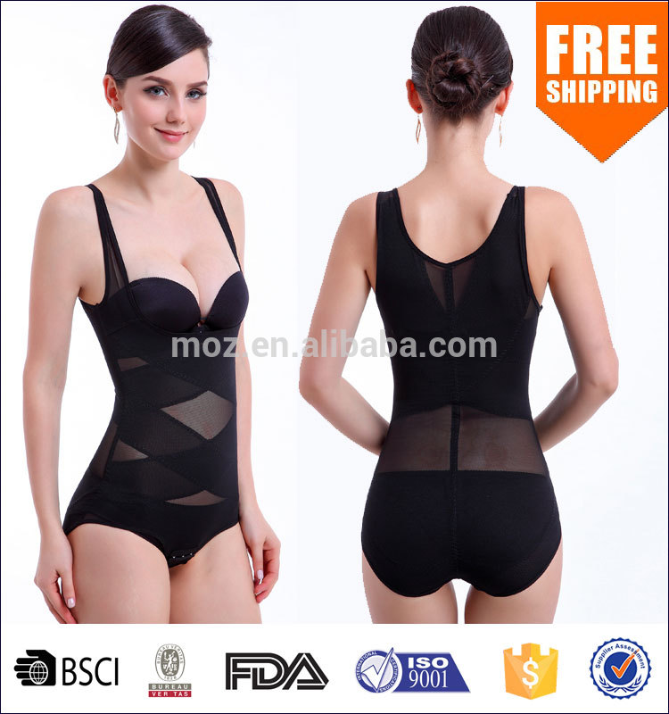 UK Best Ladies Tummy Control Corset Sexy Shapewear Lingerie Body Shaper Women Slimming Weight Loss