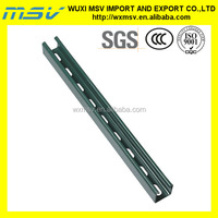 "1-5/8""x1-5/8"" or 41x41mm Slotted Steel Section"